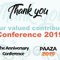 PAAZA Conference 2019 - Information